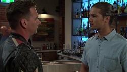 Lucas Fitzgerald, Tyler Brennan in Neighbours Episode 7561