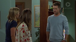 Steph Scully, Sonya Mitchell, Mark Brennan in Neighbours Episode 7563