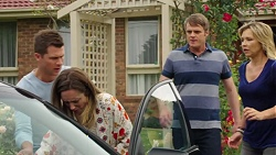 Mark Brennan, Sonya Mitchell, Gary Canning, Steph Scully in Neighbours Episode 7563