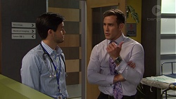 David Tanaka, Aaron Brennan in Neighbours Episode 7565