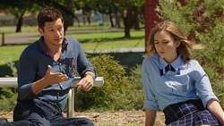 Finn Kelly, Piper Willis in Neighbours Episode 7565