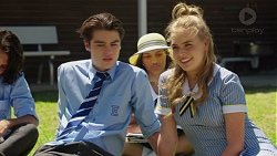 Ben Kirk, Xanthe Canning in Neighbours Episode 7565