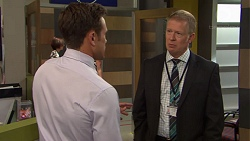Aaron Brennan, Clive Gibbons in Neighbours Episode 7565
