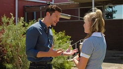 Finn Kelly, Xanthe Canning in Neighbours Episode 7565