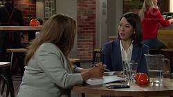 Terese Willis, Jasmine Udagawa in Neighbours Episode 7565