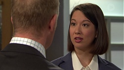 Clive Gibbons, Jasmine Udagawa in Neighbours Episode 7565