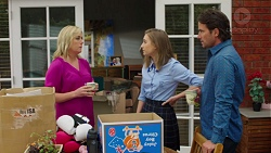 Lauren Turner, Piper Willis, Brad Willis in Neighbours Episode 7566