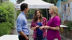 Jack Callaghan, Amy Williams, Lauren Turner in Neighbours Episode 7566