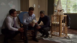 Aaron Brennan, Mark Brennan, Tyler Brennan in Neighbours Episode 7567