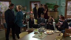 Brad Willis, Lauren Turner, Steph Scully, Tyler Brennan, Ben Kirk, Elly Conway, Mark Brennan, Sonya Mitchell, Karl Kennedy, Susan Kennedy in Neighbours Episode 7567