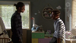 Tyler Brennan, Mark Brennan in Neighbours Episode 7568