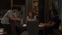 David Tanaka, Amy Williams, Leo Tanaka in Neighbours Episode 7569