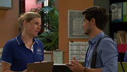 Sandra Kriptic, David Tanaka in Neighbours Episode 7569
