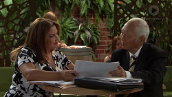 Terese Willis, Mr Udagawa in Neighbours Episode 7569