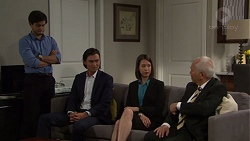 David Tanaka, Leo Tanaka, Jasmine Udagawa, Mr Udagawa in Neighbours Episode 7569
