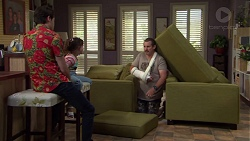 Ben Kirk, Nell Rebecchi, Toadie Rebecchi in Neighbours Episode 7571