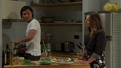 Leo Tanaka, Amy Williams in Neighbours Episode 7572