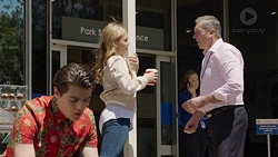 Ben Kirk, Xanthe Canning, Karl Kennedy in Neighbours Episode 7572