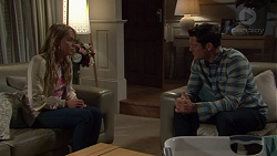 Xanthe Canning, Finn Kelly in Neighbours Episode 7572