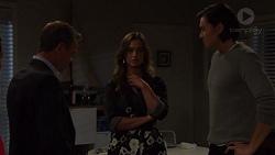 Paul Robinson, Amy Williams, Leo Tanaka in Neighbours Episode 7573