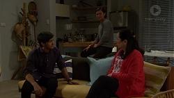 David Tanaka, Leo Tanaka, Kim Tanaka in Neighbours Episode 7573