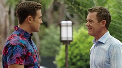 Aaron Brennan, Paul Robinson in Neighbours Episode 7574
