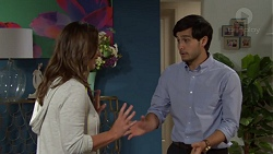 Amy Williams, David Tanaka in Neighbours Episode 7574