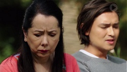 Kim Taylor, Leo Tanaka in Neighbours Episode 7574