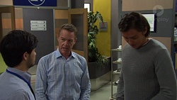 David Tanaka, Paul Robinson, Leo Tanaka in Neighbours Episode 7574
