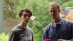 Ben Kirk, Tyler Brennan in Neighbours Episode 7575
