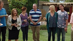 Gary Canning, Terese Willis, Susan Kennedy, Karl Kennedy, Lauren Turner, Brad Willis in Neighbours Episode 7575