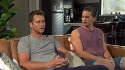 Mark Brennan, Tyler Brennan in Neighbours Episode 7576
