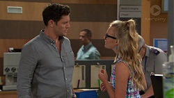 Finn Kelly, Xanthe Canning in Neighbours Episode 7576