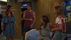 Elly Conway, Tyler Brennan, Paige Novak, Piper Willis in Neighbours Episode 7576