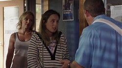 Steph Scully, Sonya Mitchell, Toadie Rebecchi in Neighbours Episode 7576