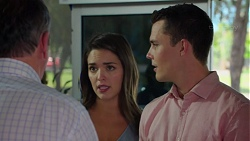 Karl Kennedy, Paige Novak, Jack Callaghan in Neighbours Episode 7576