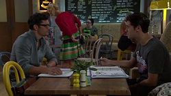 Finn Kelly, Ben Kirk in Neighbours Episode 7577