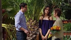 Finn Kelly, Elly Conway, Susan Kennedy in Neighbours Episode 7577