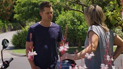 Mark Brennan, Steph Scully in Neighbours Episode 7577