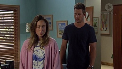 Sonya Mitchell, Mark Brennan in Neighbours Episode 7577