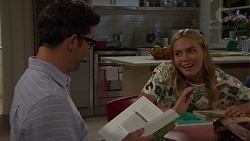 Finn Kelly, Xanthe Canning in Neighbours Episode 7577