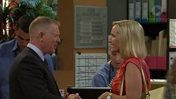Clive Gibbons, Brooke Butler in Neighbours Episode 7578