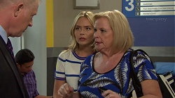 Clive Gibbons, Xanthe Canning, Sheila Canning in Neighbours Episode 7578