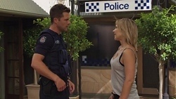 Mark Brennan, Steph Scully in Neighbours Episode 7578
