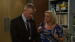 Clive Gibbons, Sheila Canning in Neighbours Episode 7578