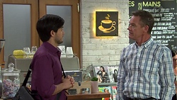 David Tanaka, Paul Robinson in Neighbours Episode 7579