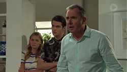 Xanthe Canning, Ben Kirk, Karl Kennedy in Neighbours Episode 7579