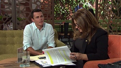 Jack Callaghan, Terese Willis in Neighbours Episode 7579
