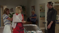 Xanthe Canning, Brooke Butler, Sheila Canning, Gary Canning in Neighbours Episode 7579