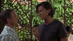 Paul Robinson, Leo Tanaka in Neighbours Episode 7579